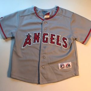 MLB  Angels Baseball Jersey Toddler size 4T